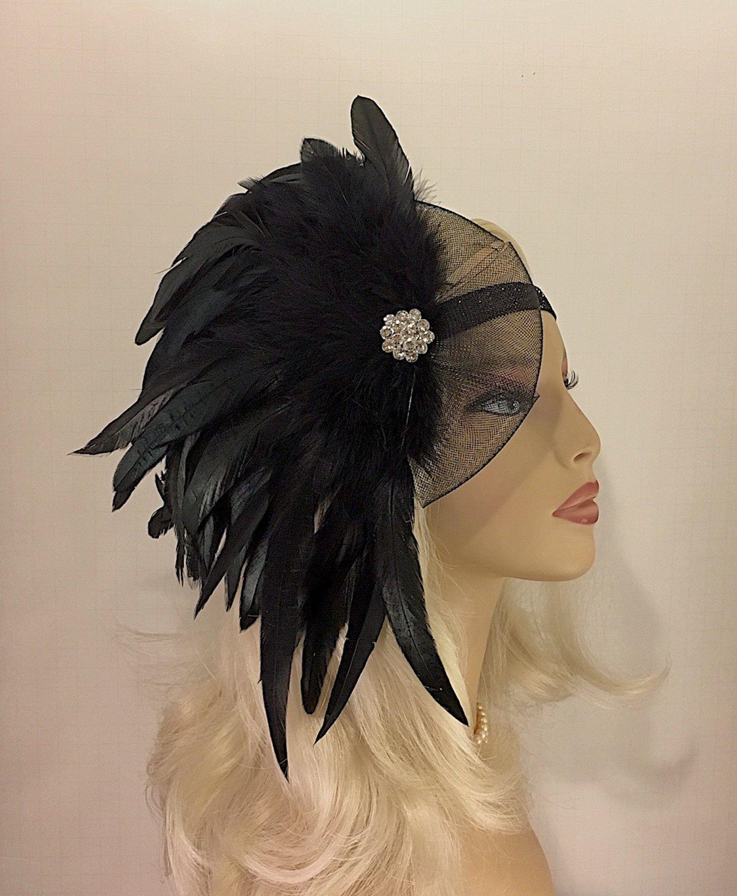 Great Gatsby Headband Flapper Headpiece S Headband