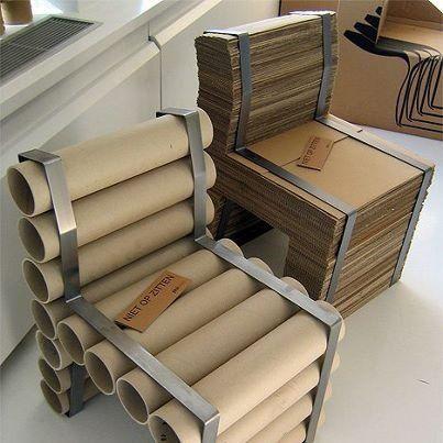 Proyectos y manualidades con cart n muebles pinterest - Reciclar muebles ikea ...