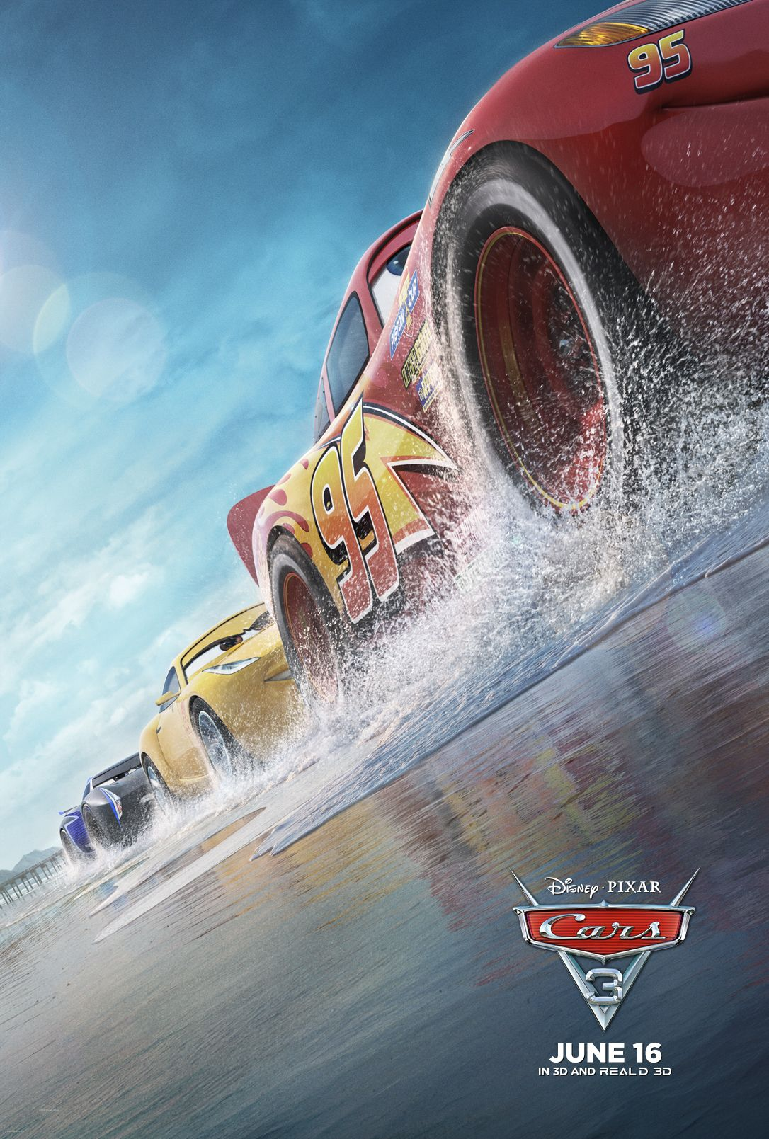 Cars 3 activity sheets new movie trailer cars3