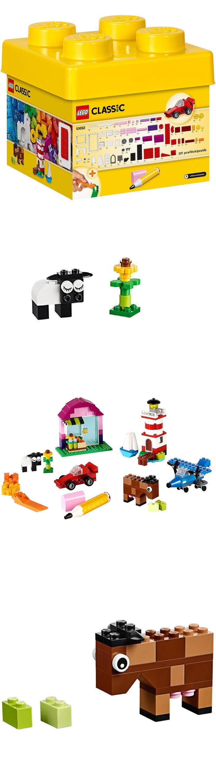 Bricks and Building Pieces Kids Lego Set Classic Build