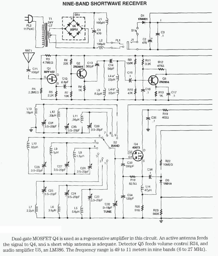 Fm Stereo Radio Receiver Circuit Using La1260 La3361 Tuner Box