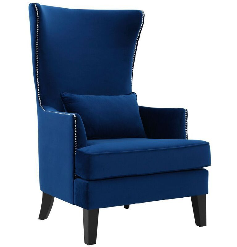 Tall Back Chairs Chairo Crystal High Accent Chair Living Room Decor Pinterest Info Features Colors Dimensions With Its And Rich Croc Velvet Upholstery The Adds Flair To Any An