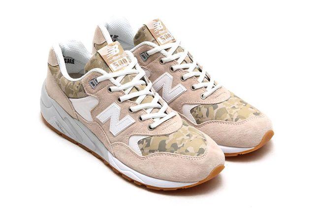 NEW BALANCE 580 (OATMEAL CAMO) | Sneaker Freaker | 种草 ...