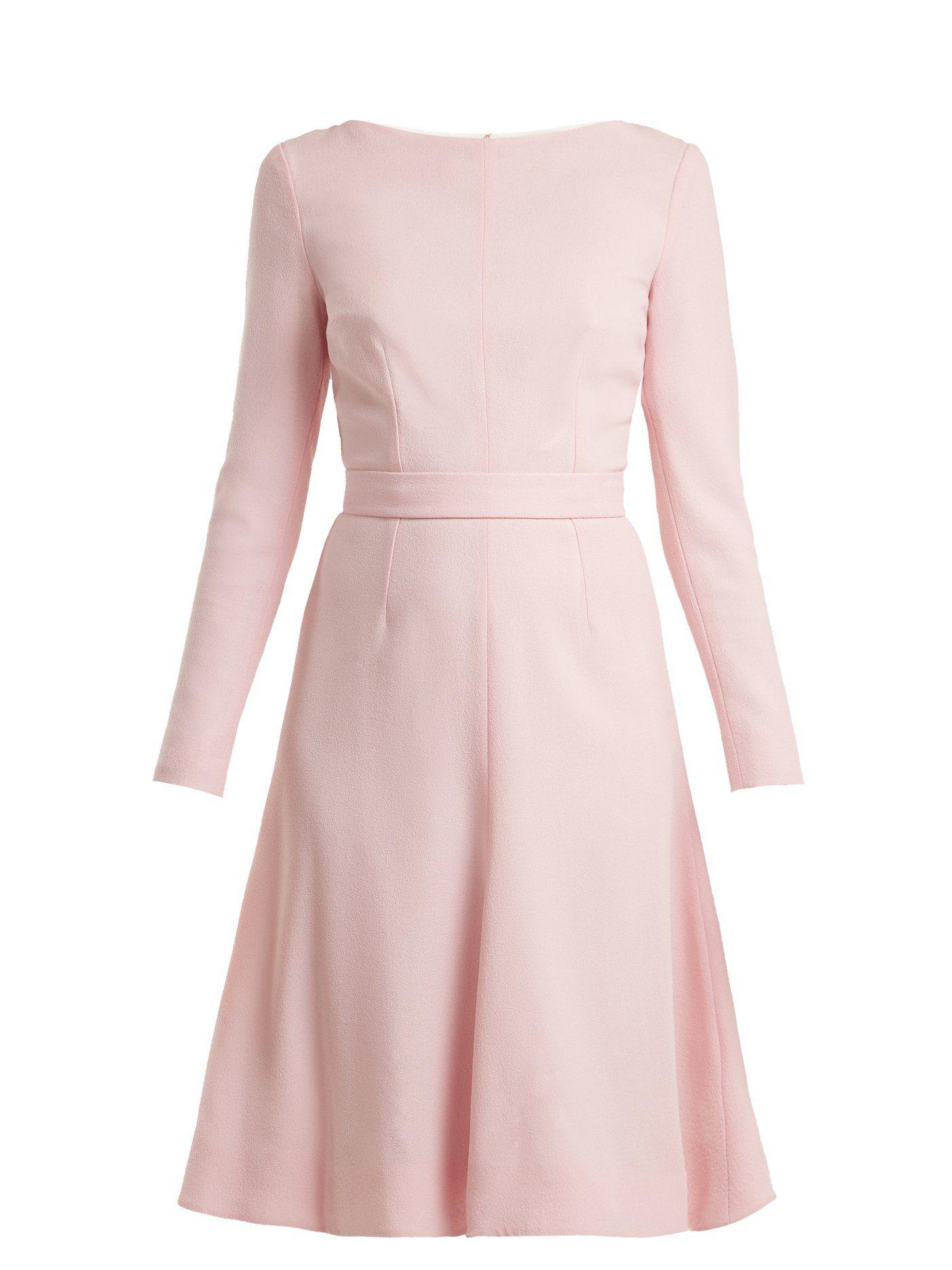 ce8ba609e Kate A-line wool-crepe dress | Emilia Wickstead | MATCHESFASHION.COM ...