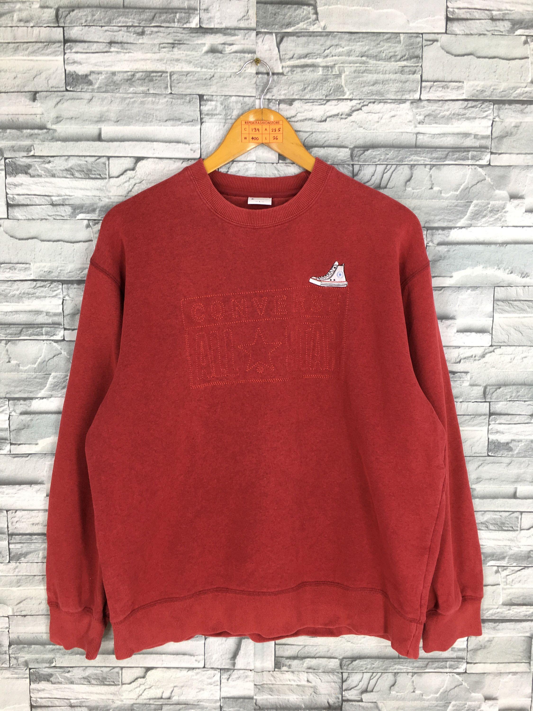 CONVERSE All Star Sweatshirts Large Skaters Streetwear