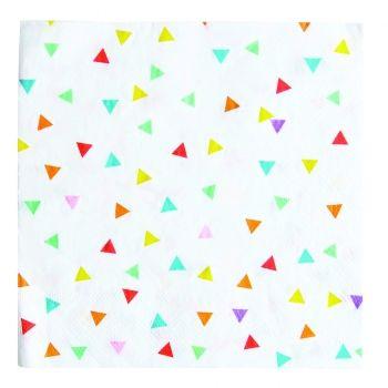 MyPaperSet - Servietten bunte Dreiecke von My Little Day