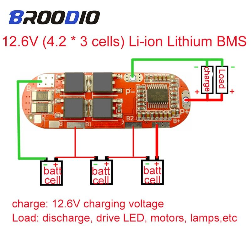 Bms 1s 2s 10a 3s 4s 5s 25a Bms 18650 Lto Li Ion Lipo Lithium Battery Protection Circuit Balance Balancer Equalizer Board Module D In 2020 Circuit Lithium Battery Lipo