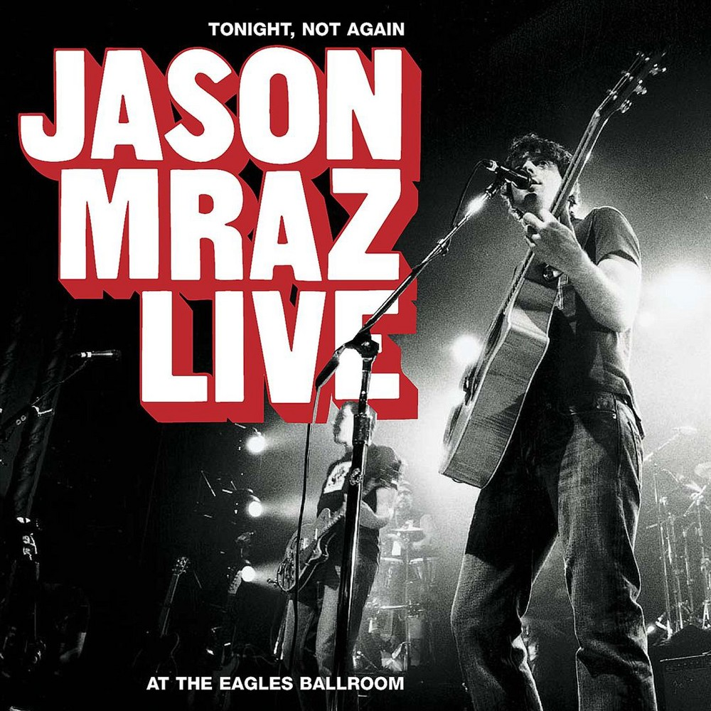 Jason mraz - Tonight not again jason mraz live at (CD)