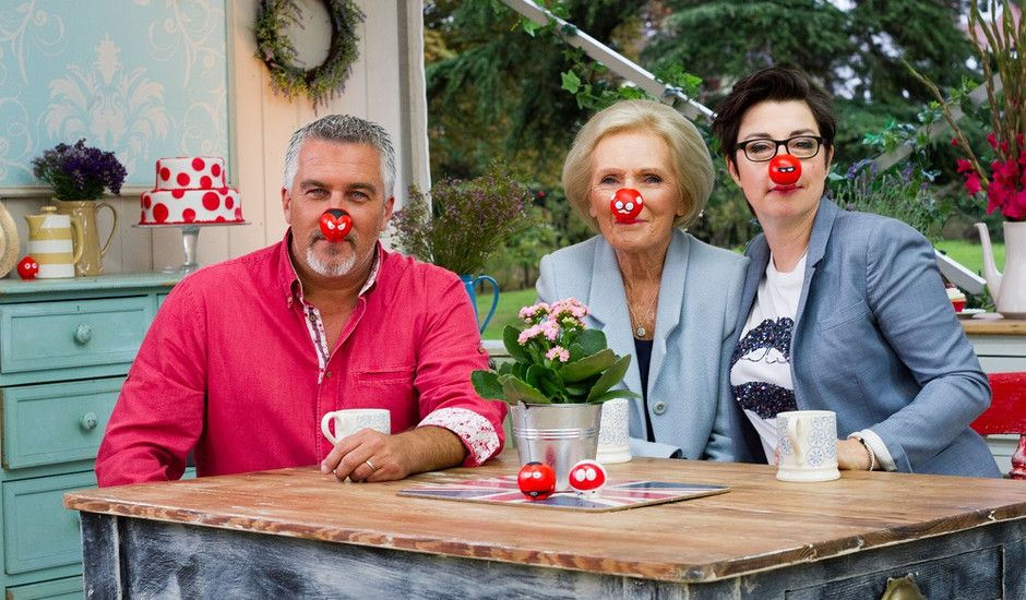 The Great Comic Relief Bake Off (With images) | Comic ...