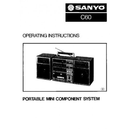 Sanyo C60 Operating Guide download | Service Manuals