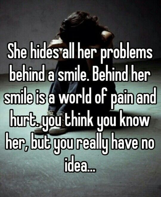 I've perfected that fake smile..but I'm right on the edge..I just don't understand why I'm not good enough.....
