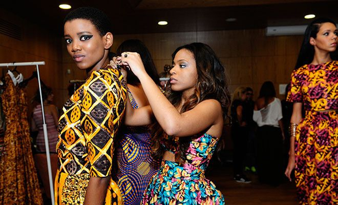 Angolan Fashion Designer, Maringela Almeida of Fiu Negru ...