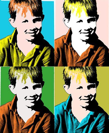 Andy Warhol Pop Art Silkscreen Photoshop Effect Lesson Plan Plus
