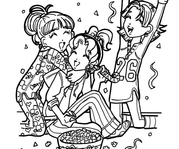 dork diaries coloring pages pictures from the dork diaries | Dork Diaries: Dear Dork review  dork diaries coloring pages