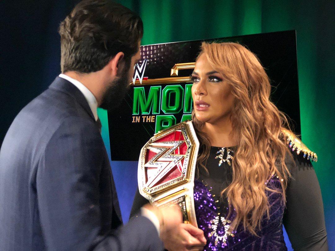 Pin By L O N A On Nia Jax Wwe Female Wrestlers Raw Women S Champion Nia Jax