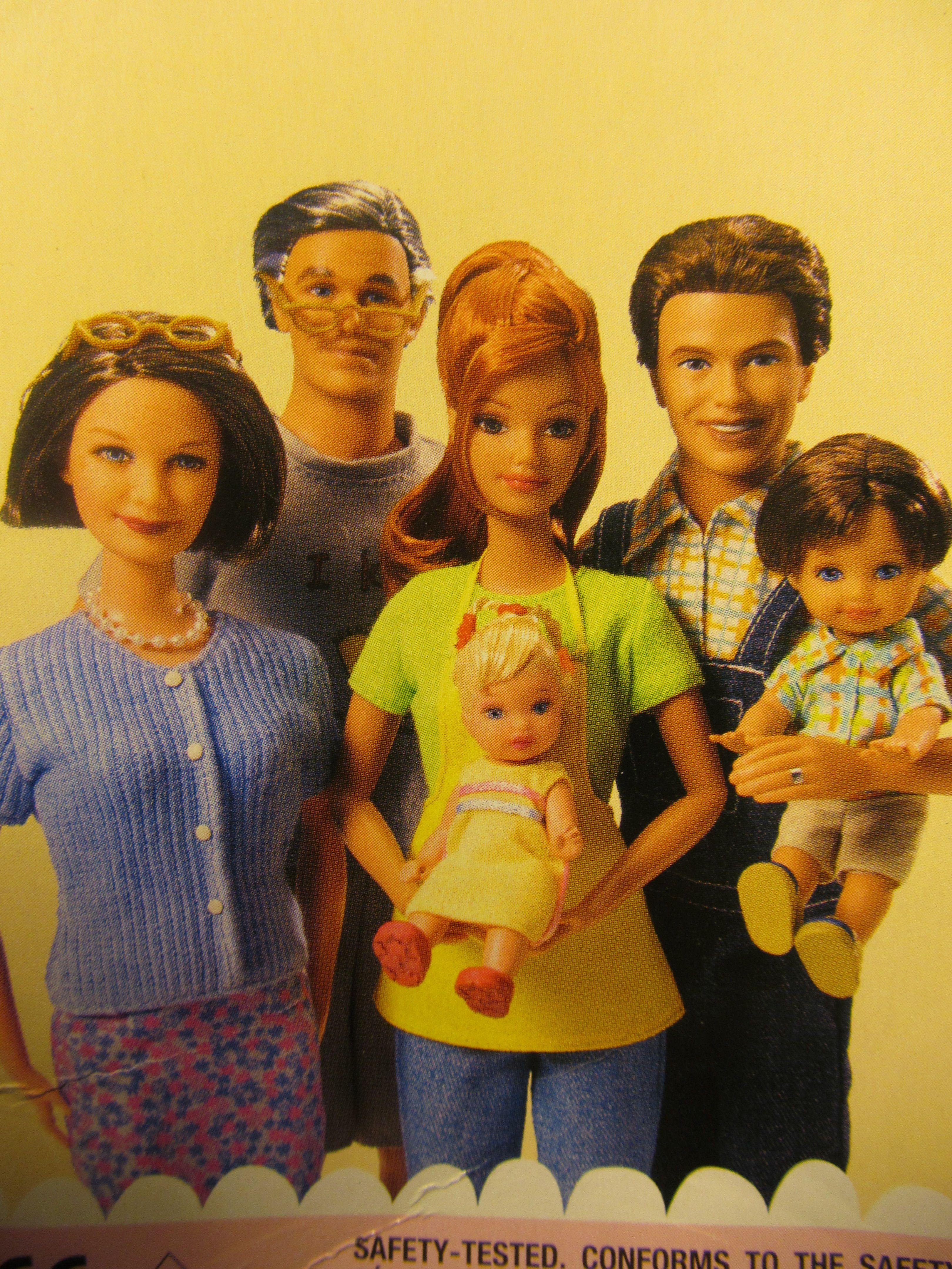 Картинки куклы барби семья