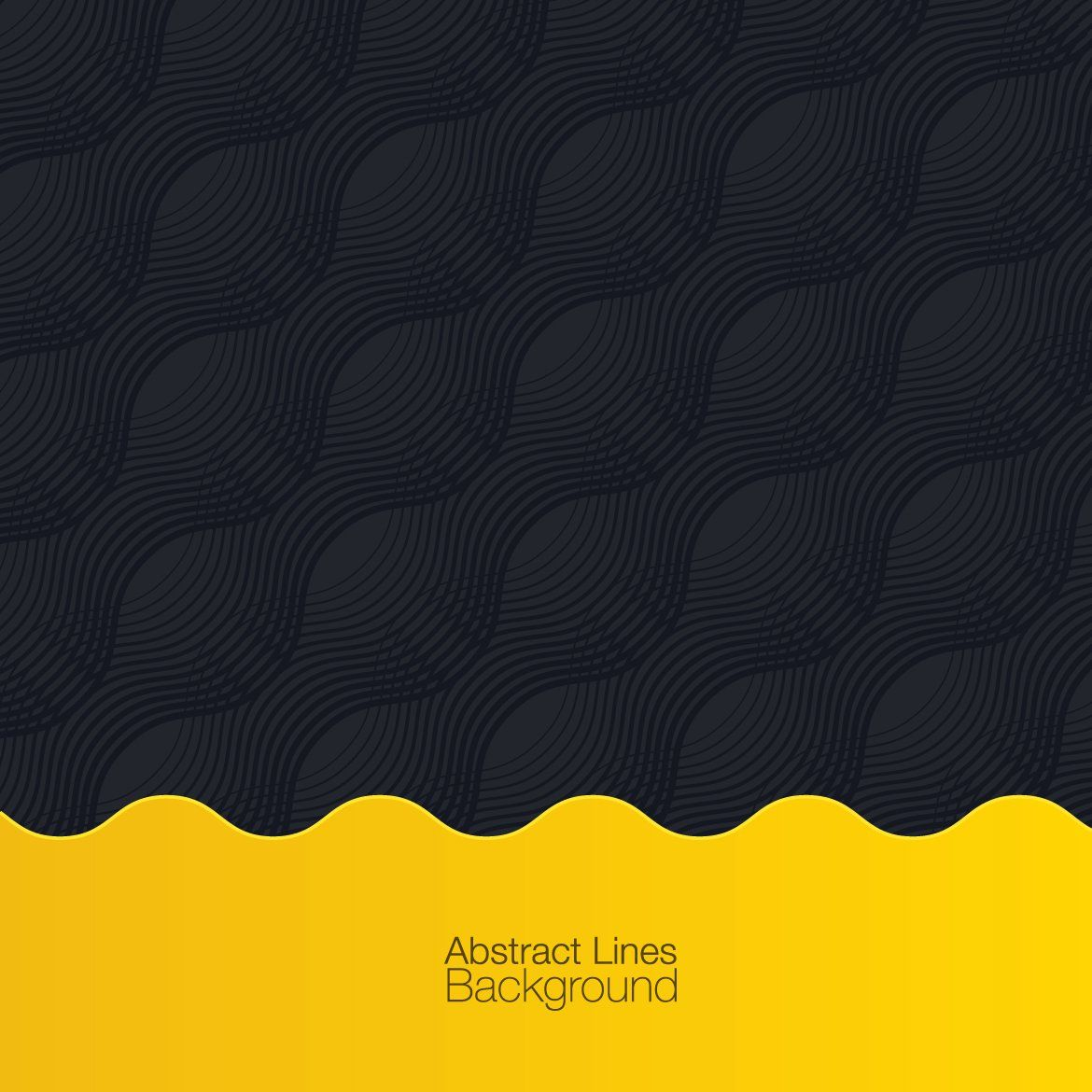Black Yellow Abstract Background Creative Background Abstract