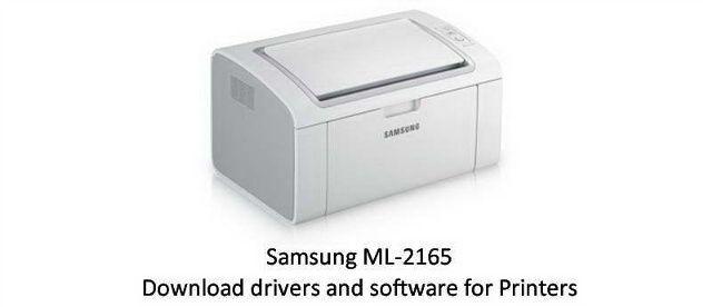 pilote imprimante samsung ml-2165w