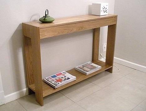 Credenzas Modernas Para Recibidor : Recibidor de diseño mesa arrime dulce hogar en