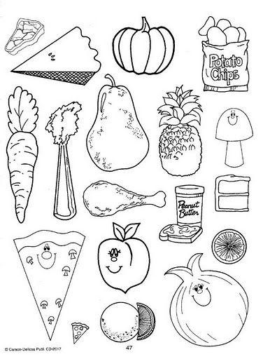 imagenes de la alimentacion saludable para dibujar