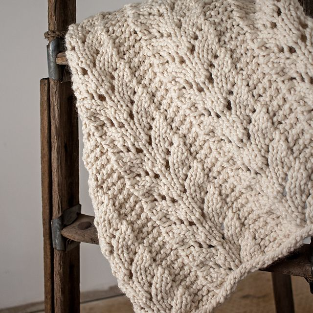Blanket : Caring pattern by Brome Fields