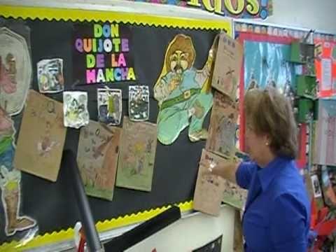 Mrs. Cruz's Hispanic Heritage Month Class Display