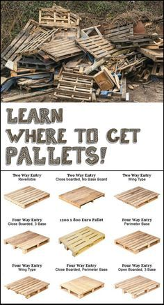 Pallets – where do you get them? #palletprojects