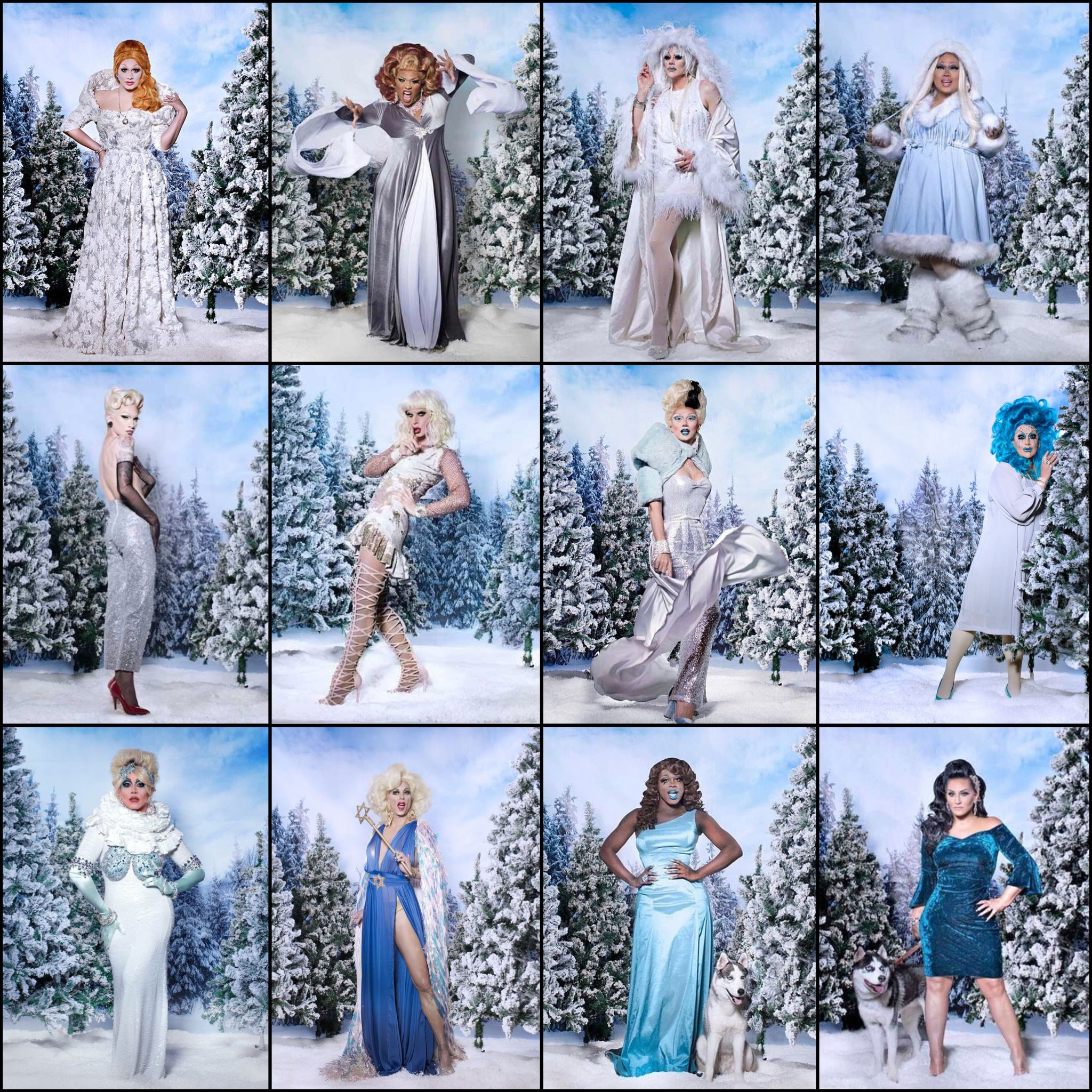 Christmas Queens.Christmas Queens 3 Jinkx Peppermint Thorgy Jiggly Fame