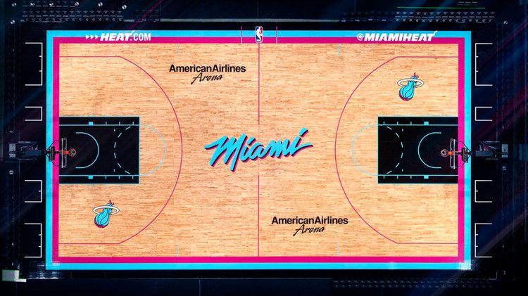Miami Heat Release New Vice Jerseys Court Nbc Sports Miami Heat Nba Miami Heat Nba