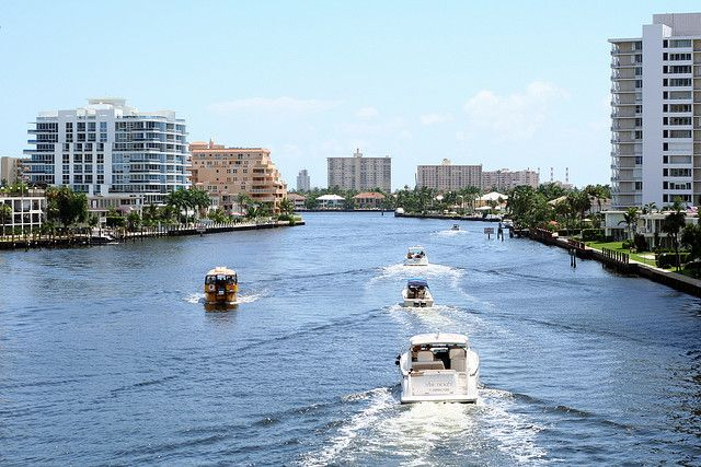 Intracoastal Waterway From Sunrise Blvd Draw Bridge Vacation