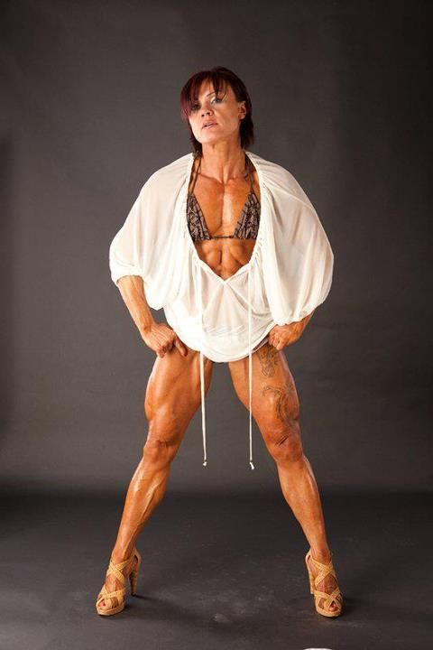 Jacqueline Fuchs  Jay Fuchs  Muscular women Pro bodybuilders und Powerful women