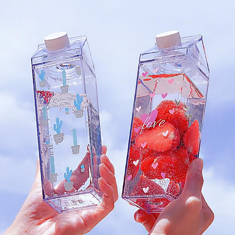 Cute Plastic Drink Bottle KW1812557
