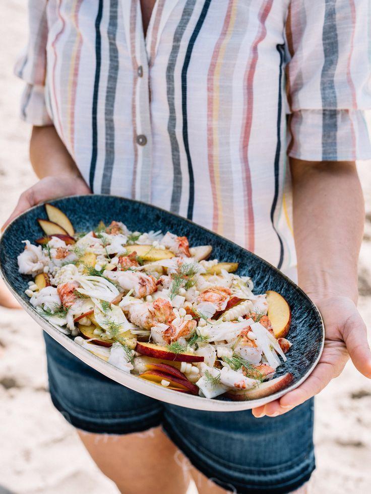 Poached Lobster Salad | Recipe | Steak and lobster dinner ...