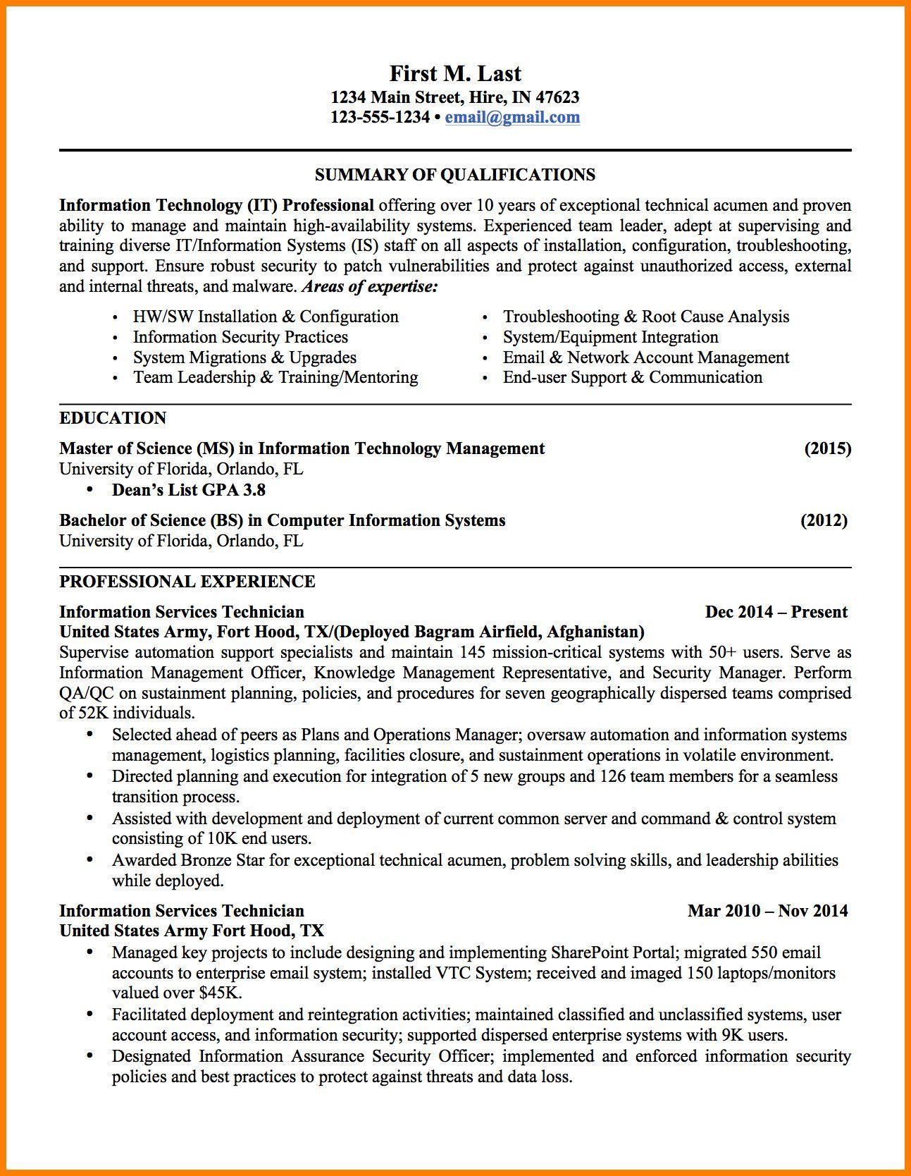 68w Resume Examples Resume Templates Resume