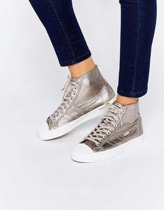 9170f5ea9b1 Gola Coaster Metallic High-Top Sneaker | Walk It Off | High tops ...
