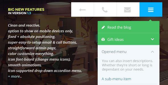 touchy-a-wordpress-mobile-menu-plugin | Web Development | Pinterest
