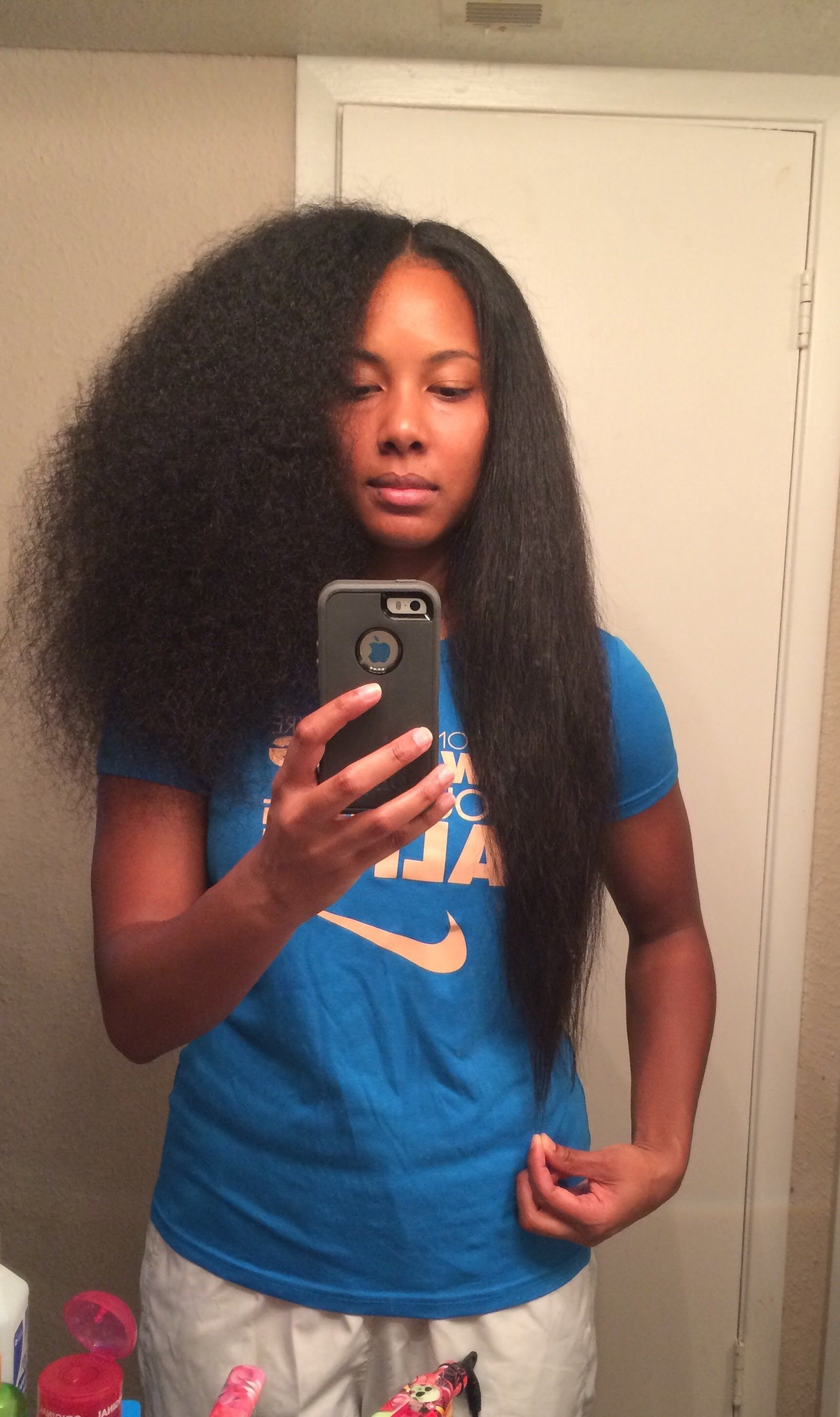 curly to straight l chi flat iron on natural hair | truth
