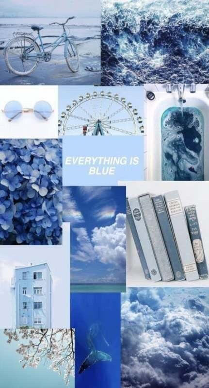 Aesthetic wallpapers blue
