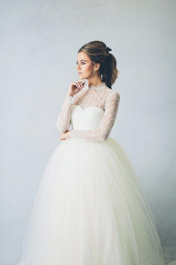 Modern Winter Wedding Dresses : Modern meets fairytale the wedding dress collection by elizabeth