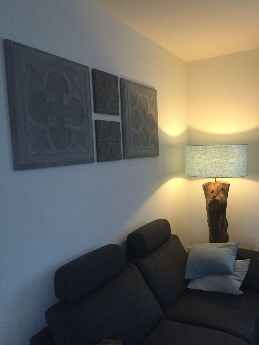 Houten Panelen Wanddecoratie.Wanddecoratie Artivue Stalen Panelen Op Een Houten Frame
