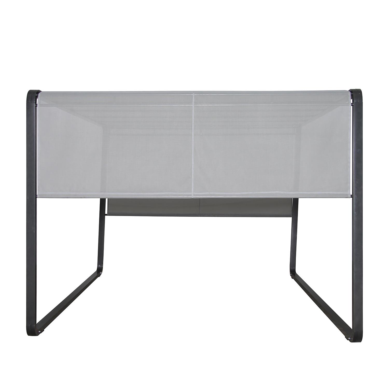 Fresh Pavillon Milano Aluminium Stahl Kunststoff Anthrazit Hellgrau Leco