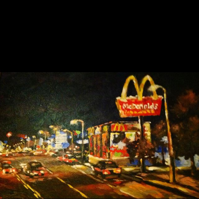 Interesting depiction of the golden arches