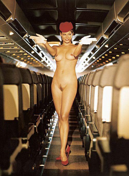 Nude Flight Attendent 120