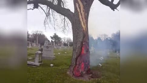From The Weather Channel iPhone App Tree, Lightning