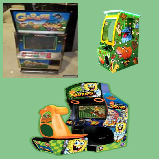 купити дитячі ігрові автомати