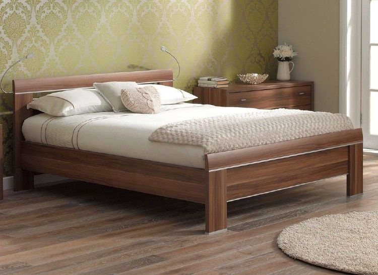 40 Comfy And Vintage Wooden Bed Designs Ideas Wooden Bed Frames Modern Wooden Bed Bed Design