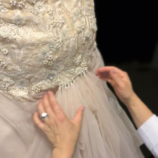 Everyday I\'m Bustlin\' - How to Bustle a Wedding Dress | Pinterest ...