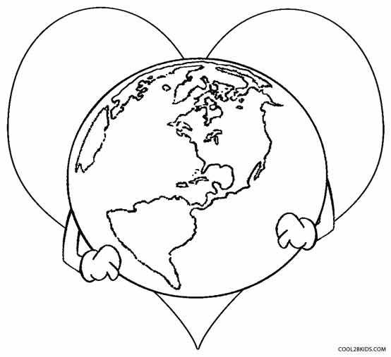 Printable Earth Coloring Pages For Kids Cool2bkids Earth Coloring Pages Earth Day Coloring Pages Planet Coloring Pages