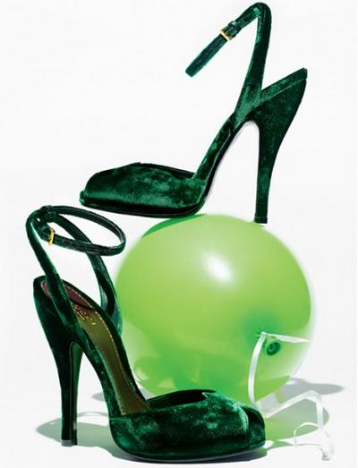 9097fe609 Gucci emerald velvet heels at Bergdorf Goodman | Shoes, Shoes & More ...