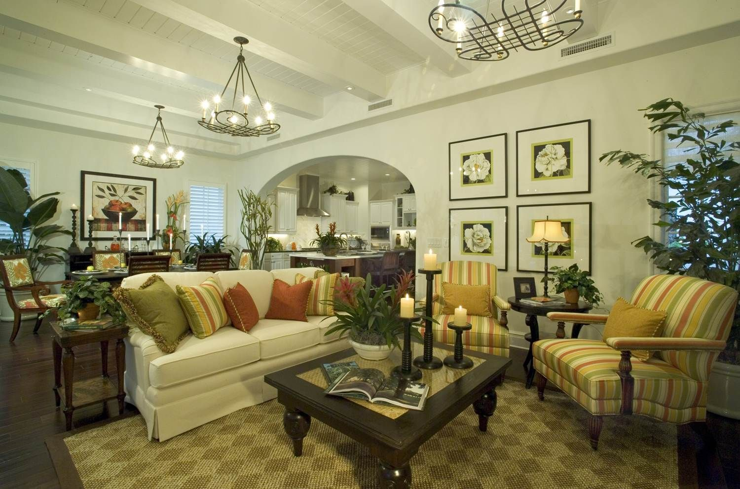 Tropical Living Rooms Living Room White Wall Interior By Mga Tropica Country Living Room French Country Living Room French Country Decorating Living Room #tropical #living #room #design